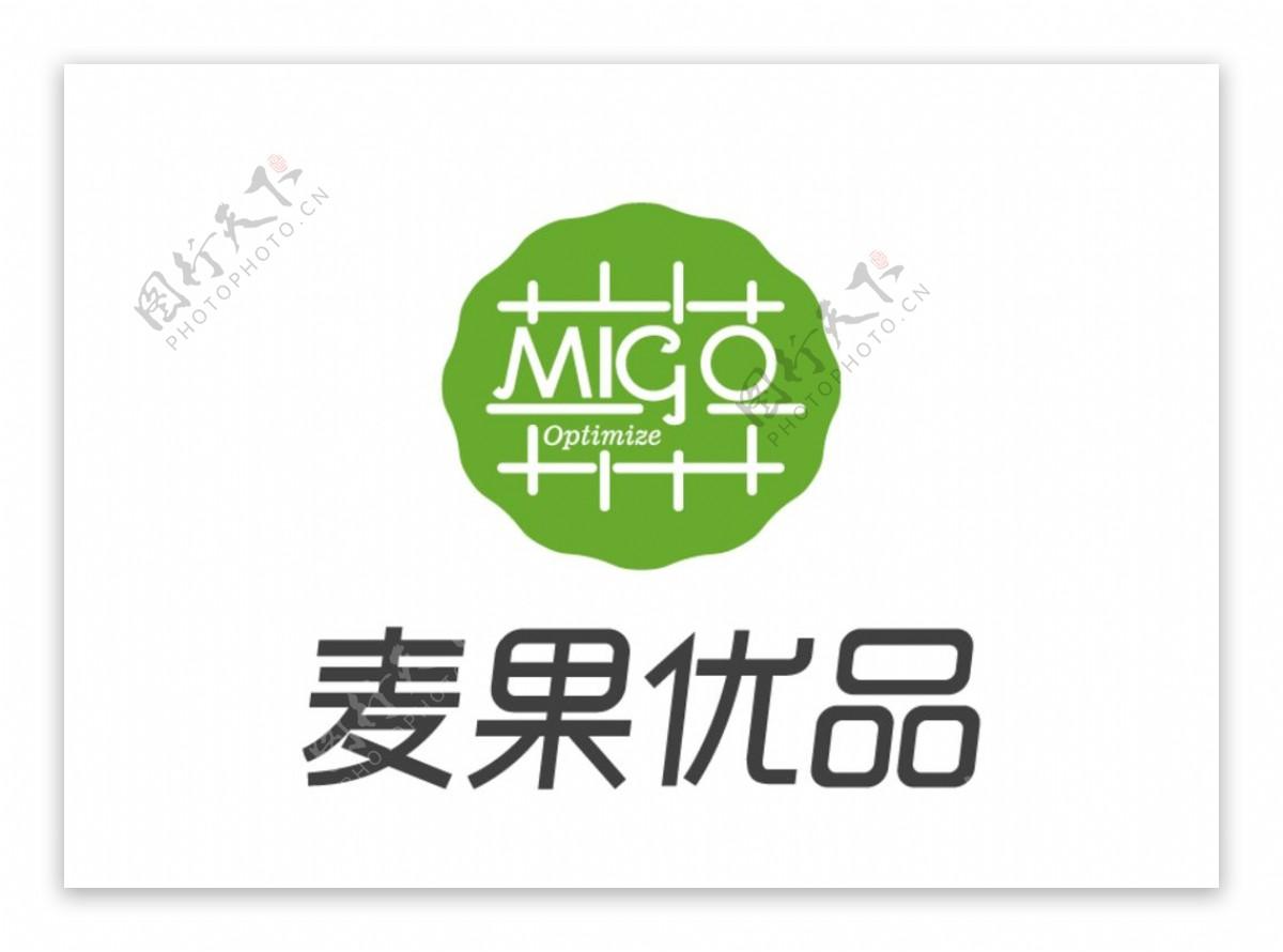 麦果优品标志LOGO商标图片